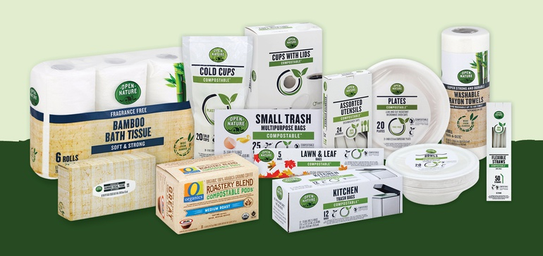 Albertsons debuts eco-friendly products under Open Nature label