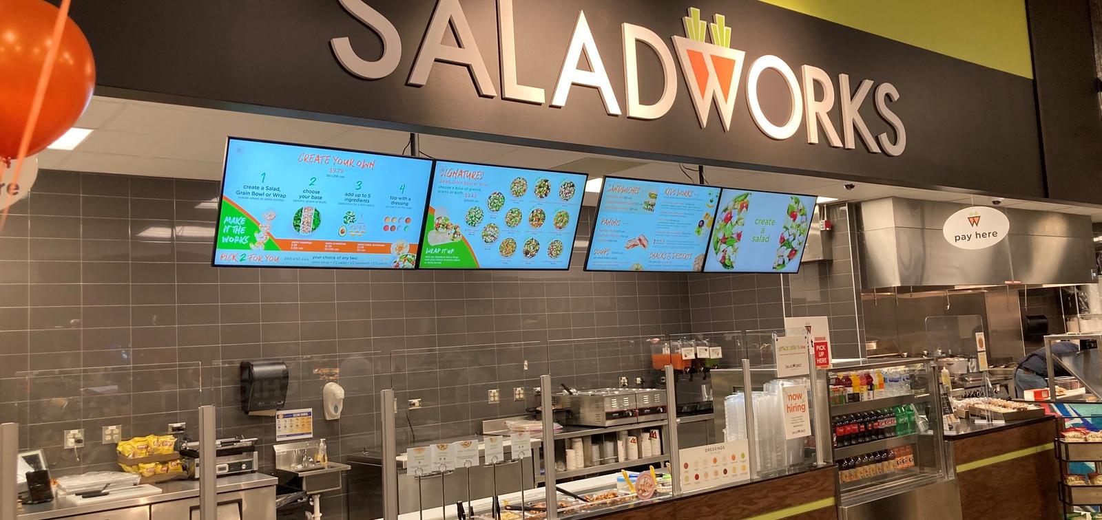 Fast casual Saladworks opens in a Cincinnati Kroger