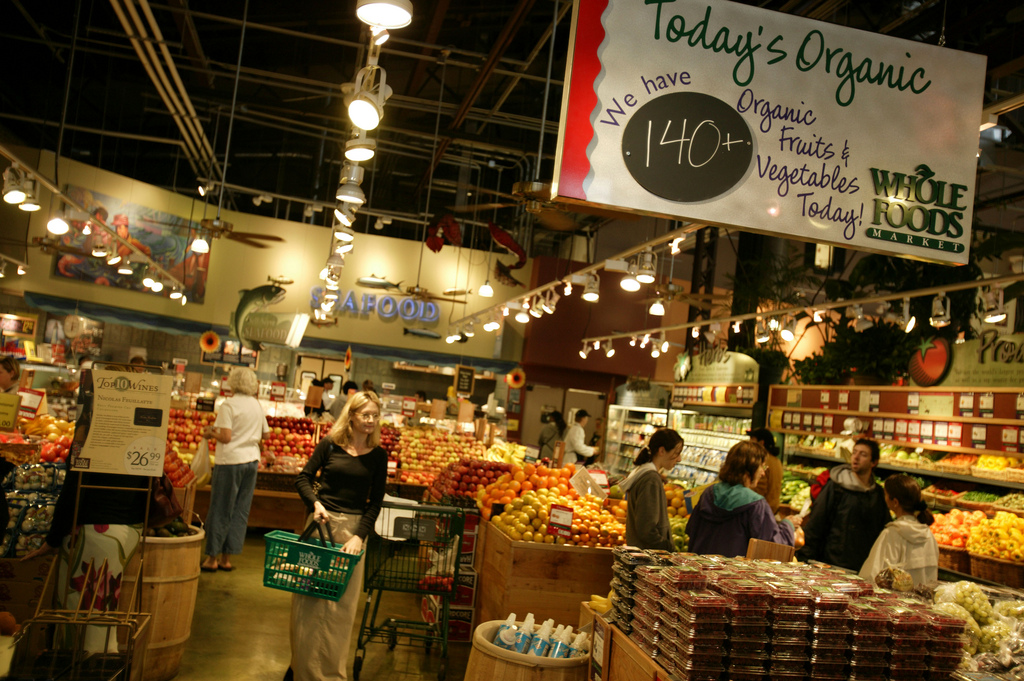 Whole Foods stress-free shopping experience