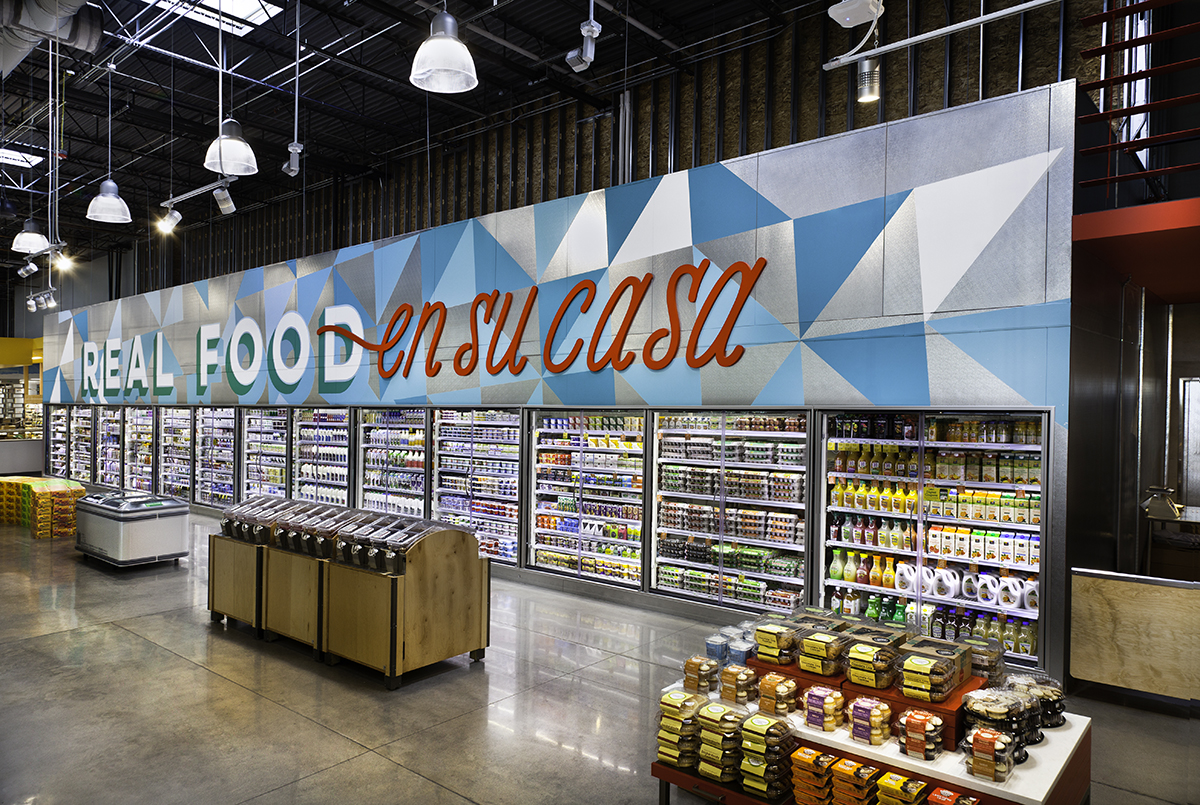 bilingual Whole Foods in Texas